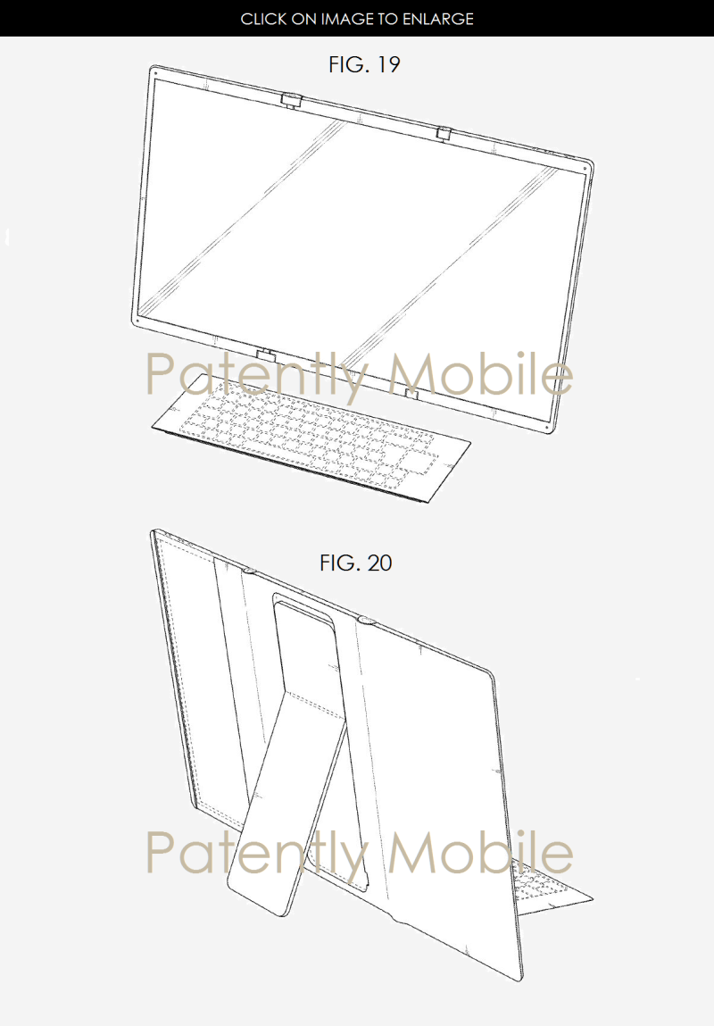 5AF XX 99 SAMSUNG PATENT FIGS. 19 AND 20 DESKTOP CONFIG.