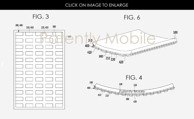 2AX XXX FLEXIBLE DISPLAY PATENT GRANTED SAMSUNG FIGS 3, 4 & 6