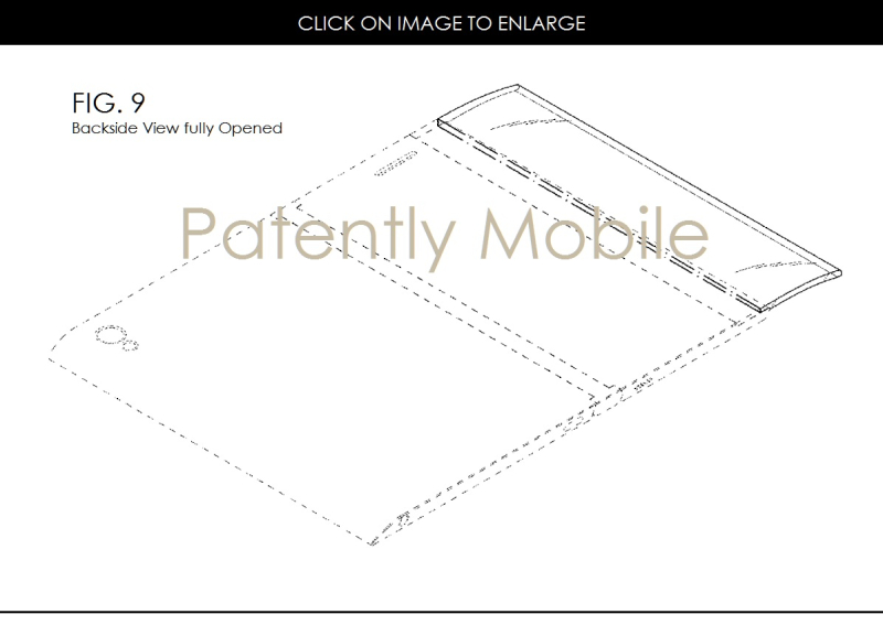 5af 88x samsugn fig. 9 foldable smartphone design patent jan 2017
