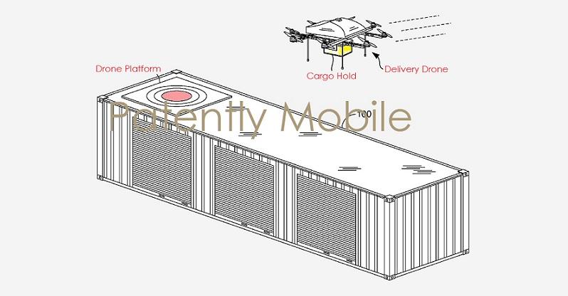 1AX 99 COVER DRONE PLATFORM, AMAZON PATENT GRANTED