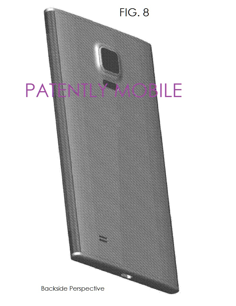 4AX 99 BACKSIDE PERSPECTIVE Samsung design patent fig. 8