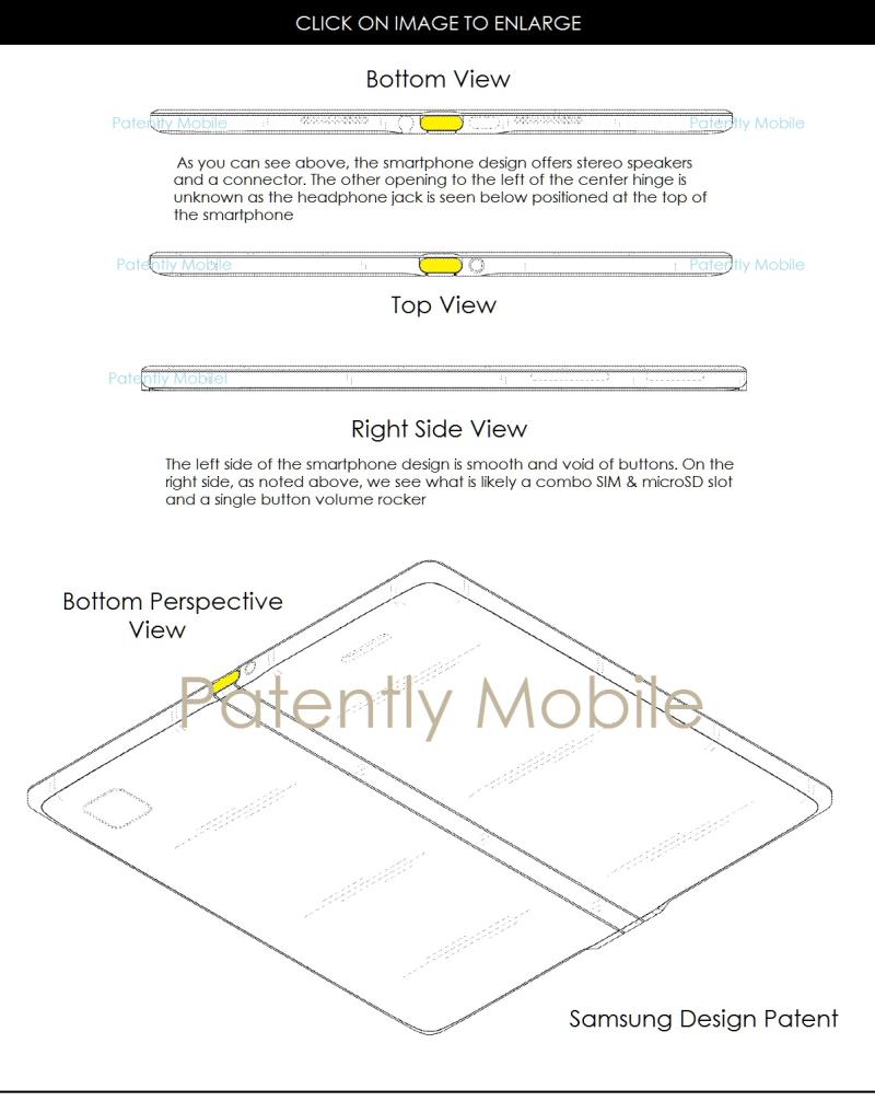 4af samsung varying angles of a future smartphone design