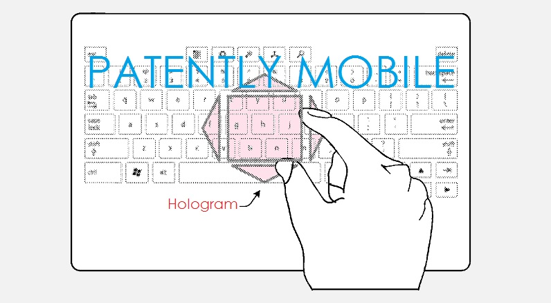 1AF X99 MSFT GRANTED PATENT FOR HOLOGRAPHIC SURFACE TABLET