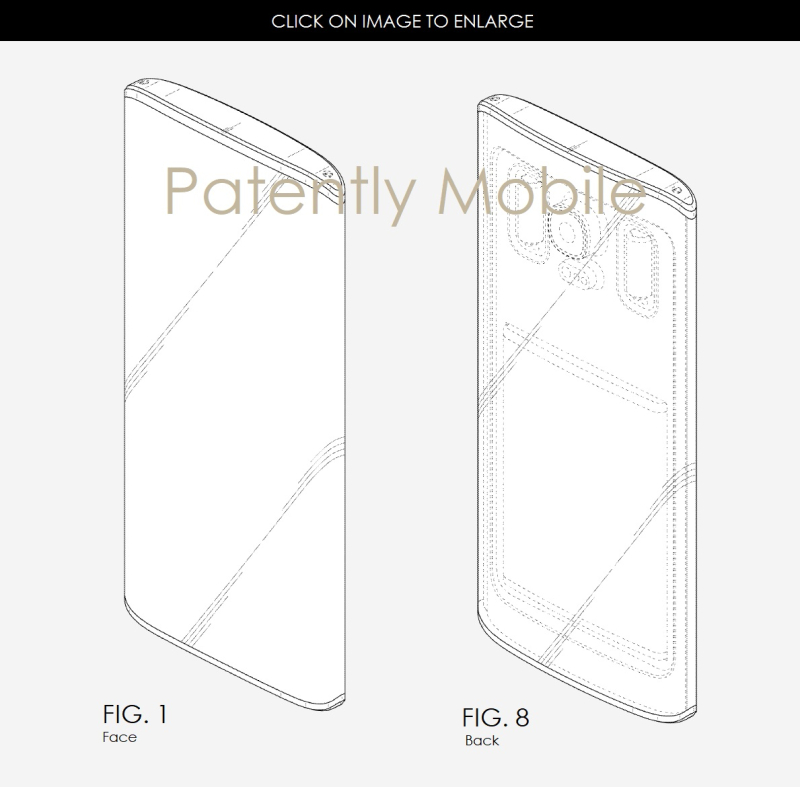 4AF X 99 SAMSUNG DESIGN PATENT WITH INTERESTING BACKSIDE