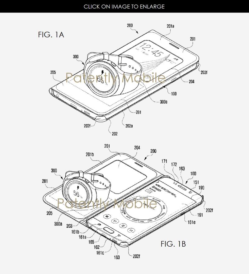2AF X99 SAMSUNG PATENT FOR WIRELESS CHARGING CASE