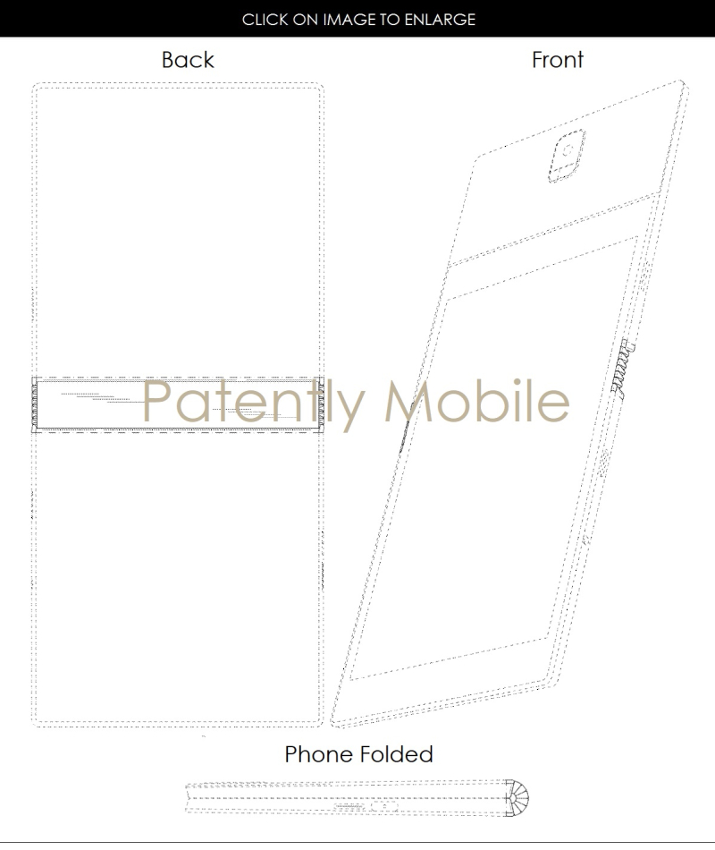 4af x99 samsung granted patent folding phone