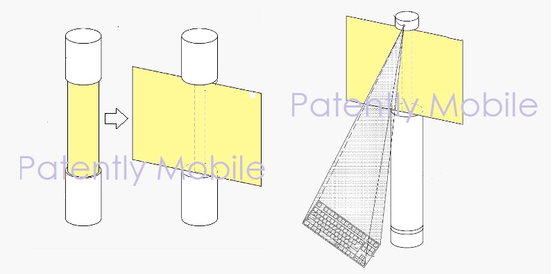 8AF X SAMSUNG PROJECTOR DEVICE PATENT FIGURE