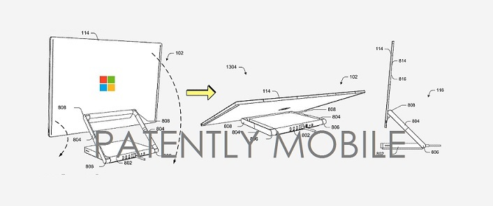 2 msft surface studio patent figures
