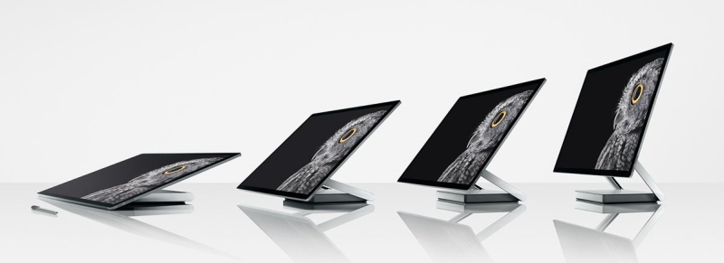 3 msft surface studio rotatable display