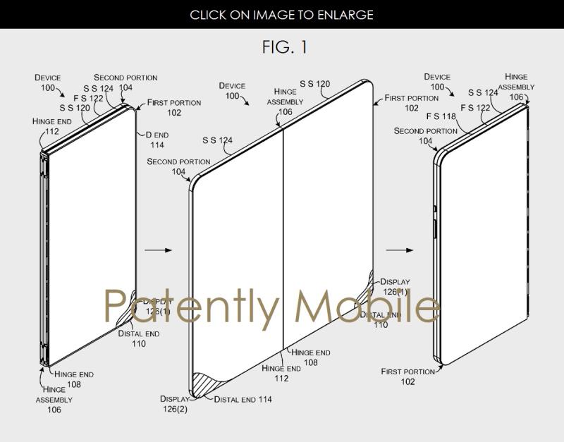 3 X Microsoft dual display smartphone
