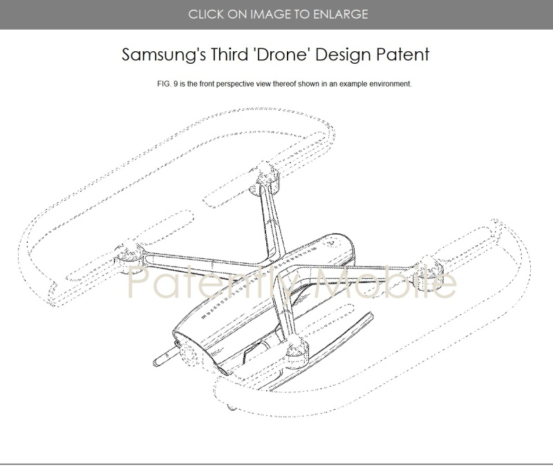 2 samsung wins granted patent in US for a drone  3rd patent since march 2018