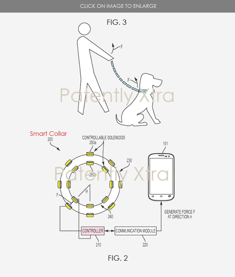 2 Samsung Virtual leash wins US Patent