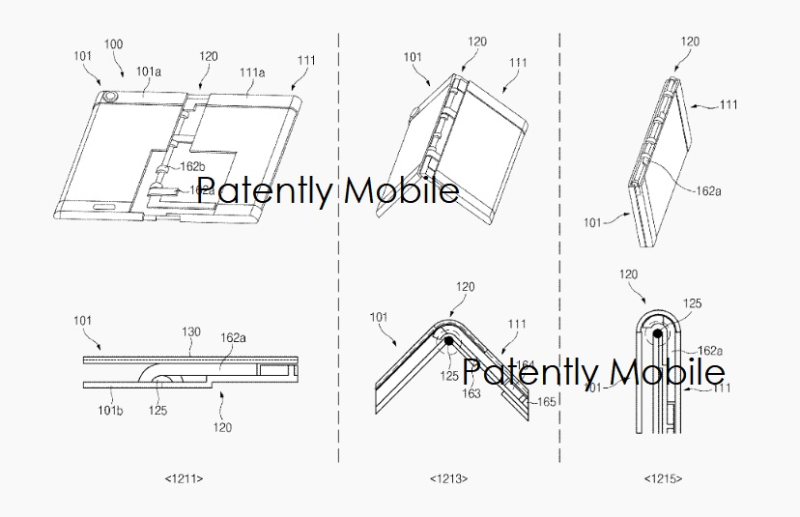 6  SAMSUNG PATENT APPLICATION FOR FOLDING SMARTPHONE