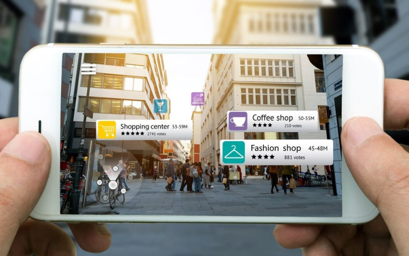 7 smartphone with AR feature