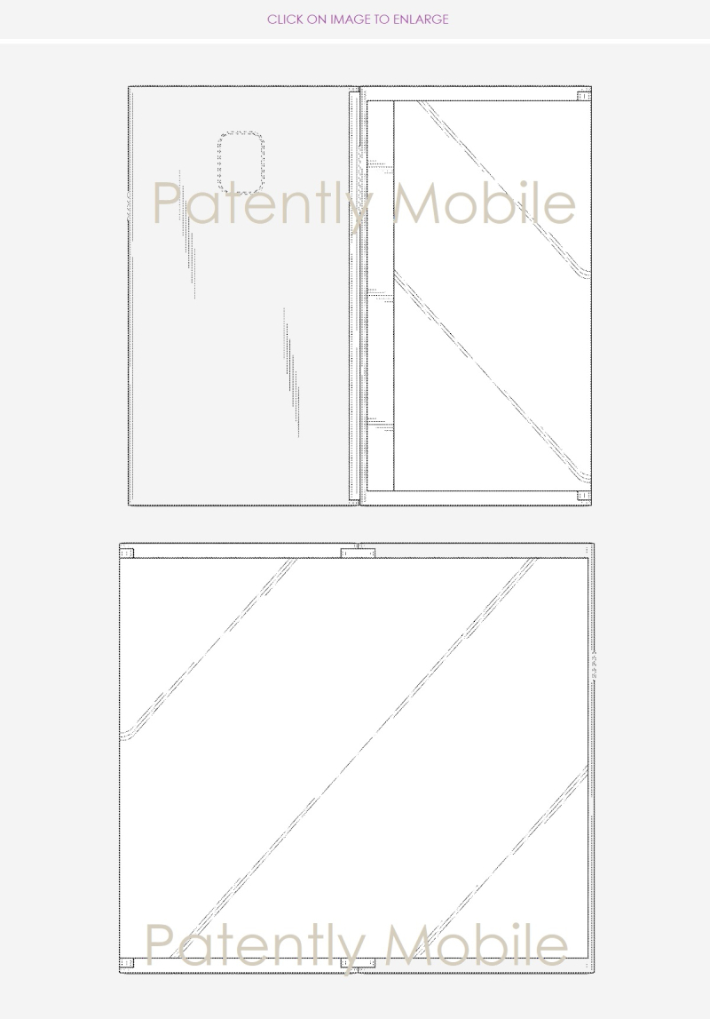 2 Samsung wins design patent nov 13  2018 - Patently Mobile folding phone