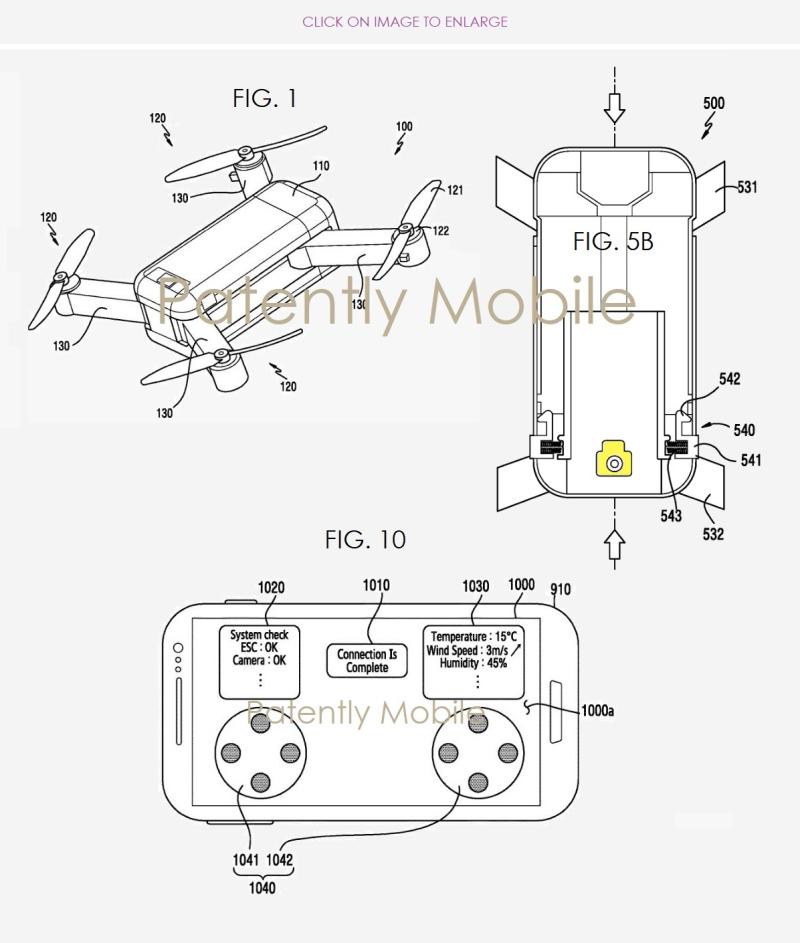 2 x Samsung Drone figs 1  5B & 10