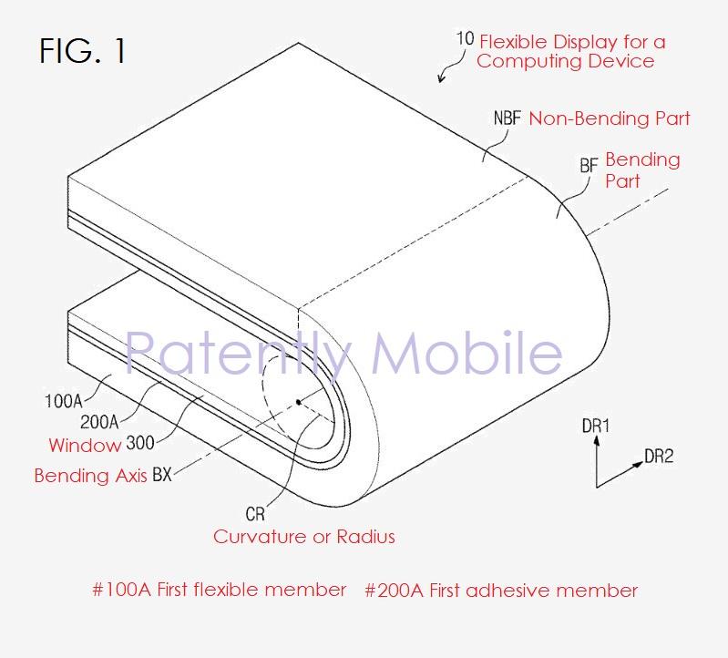 3 x bendable phone