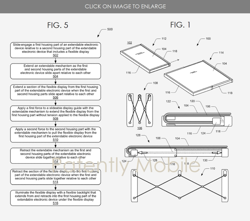 3 X MICROSOFT EXPANDABLE SMARTPHONE WINS PATENT 2018  PATENTLY MOBILE
