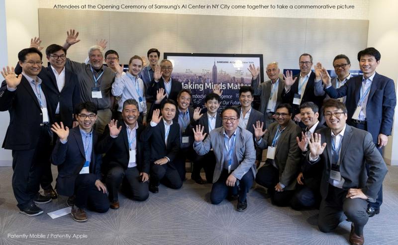 2 PM - Samsung 2 group photo AI team NY