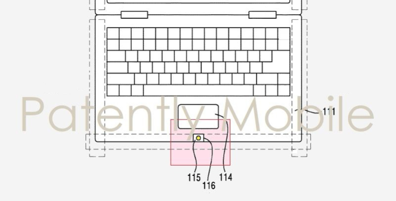 1 X cover samsung hybrid notebook camera system patent