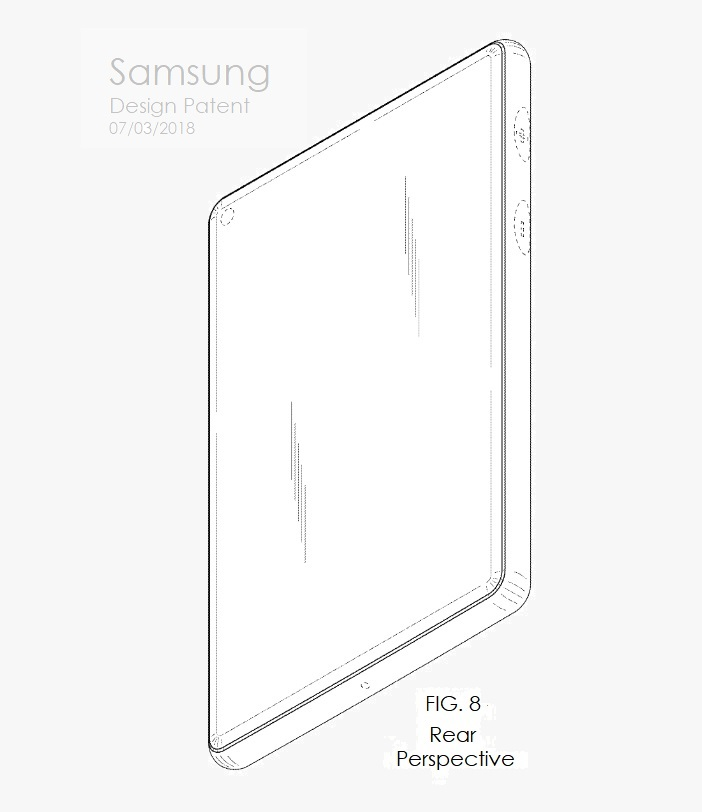 4 X Samsung design patent july 2018