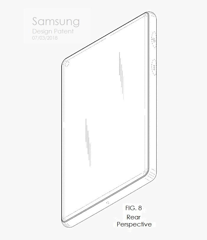 4 X Samsung design patent july 2018