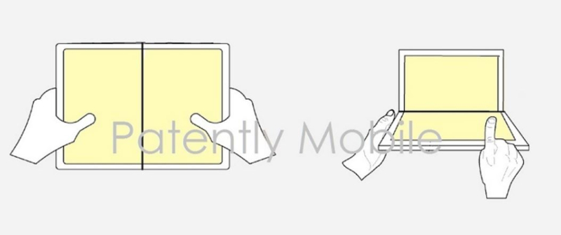 1 Cover foldable device  Microsoft granted patent nov 2018 - Patently Apple report