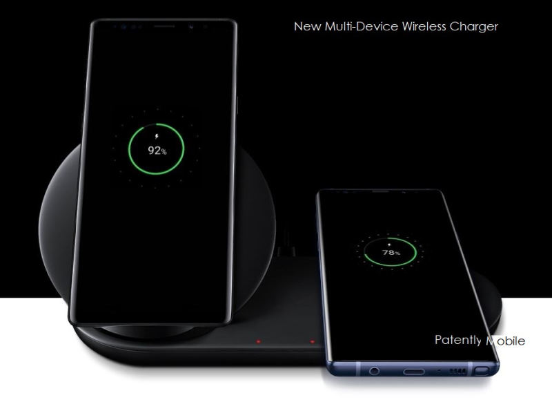 9.5 PM -  new samsung galaxy charger for multiple devices