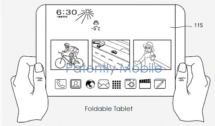 1 X Cover foldable tablet patent figure