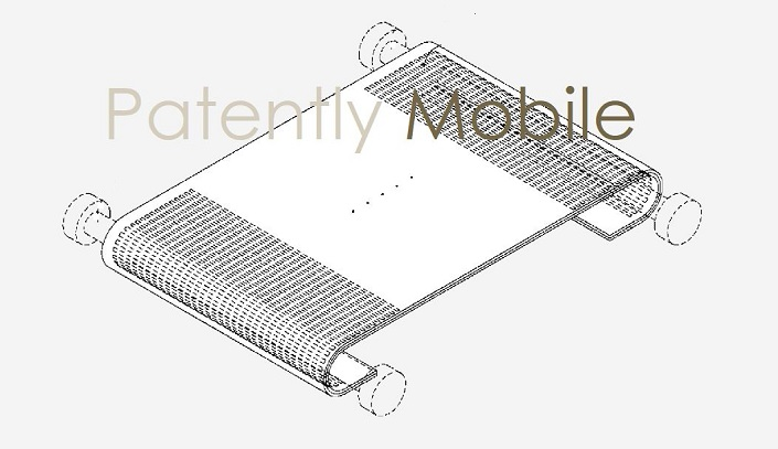 1 x cover scrollable display device