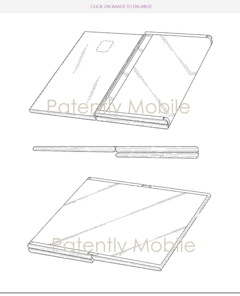 3 - samsung folding tablet granted a patent nov 2018 - Patently Apple report