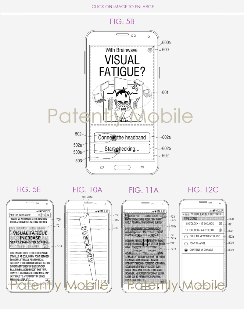 4 Samsung EEG visual fatique - Brainwave App