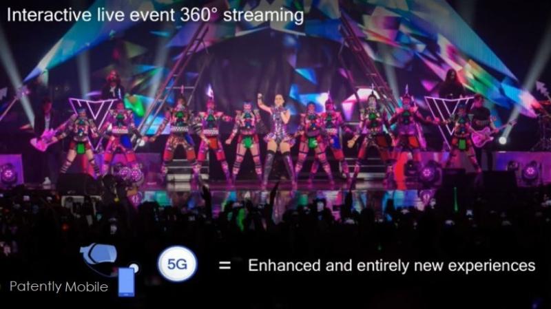 2 Qualcomm slide - Streaming content on 5G  live 360 degree streaming