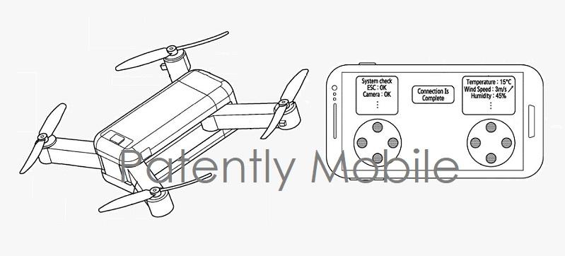 1 X Cover samsung drone smartphone GUI