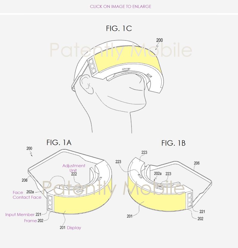 2 Samsung next-gen gear vr headset patent filing - Patently Mobile report