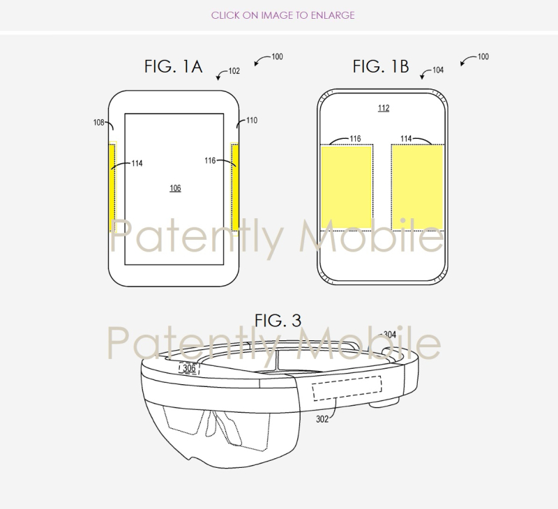 2 Microsoft forming touch sensors on fabric figs 1a  1b and 3  Patently Mobile report
