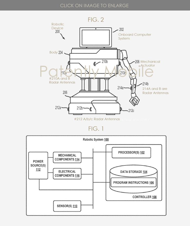 2 Google robot system