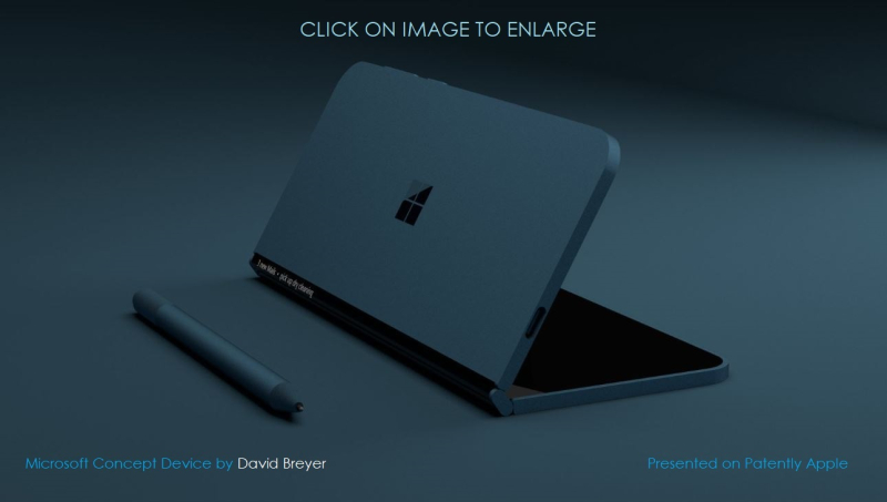 2 cover concept foldable device msft