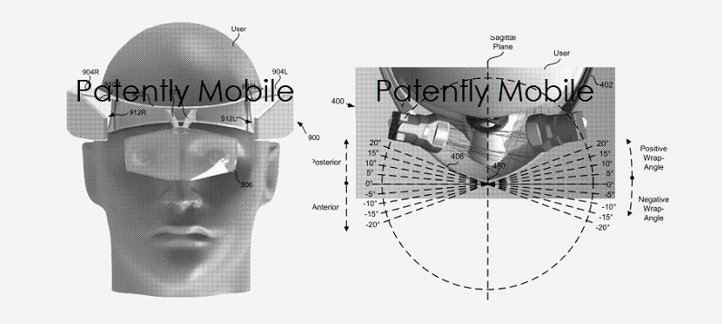 1 x cover - Google patent figs 4b and 9b HMD  Part of Patently Apple IP report April 8  2019