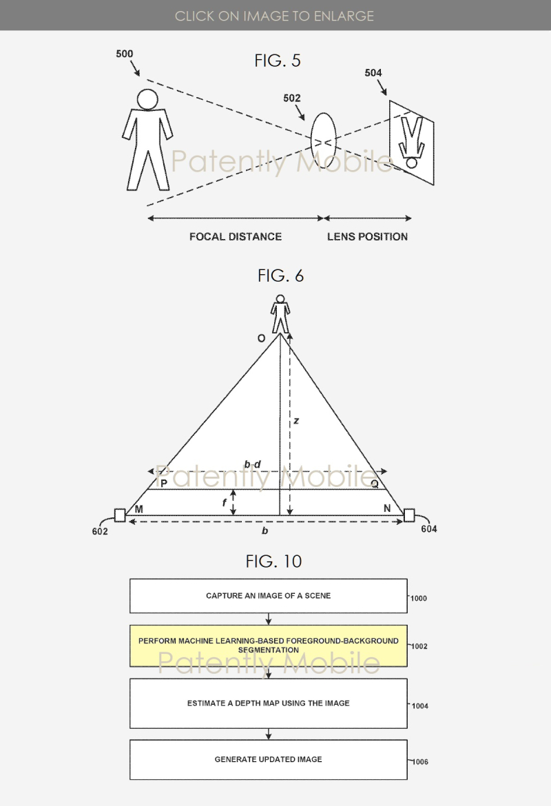 2 X Google Patent for Pixel 2 camera creates depth with a single camera using machine learning  Patently Apple report