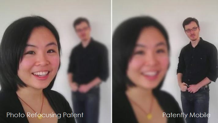 1 X Google Photo Refocusing Technology patent