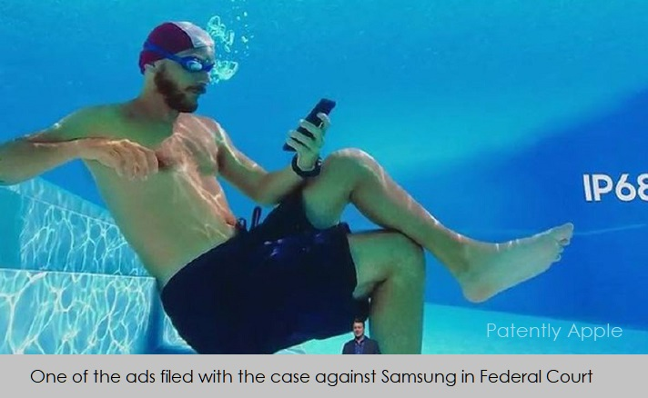 1 X Cover - Samsung Ad filed with case against Samsung in Australian Court