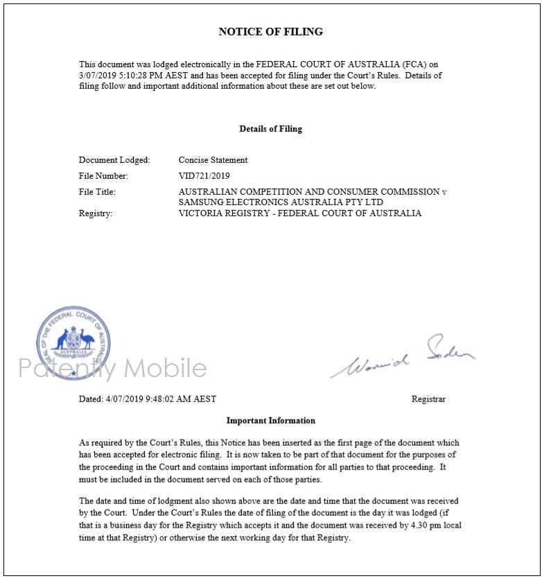 1 - X - PM - Extra  first page of court document