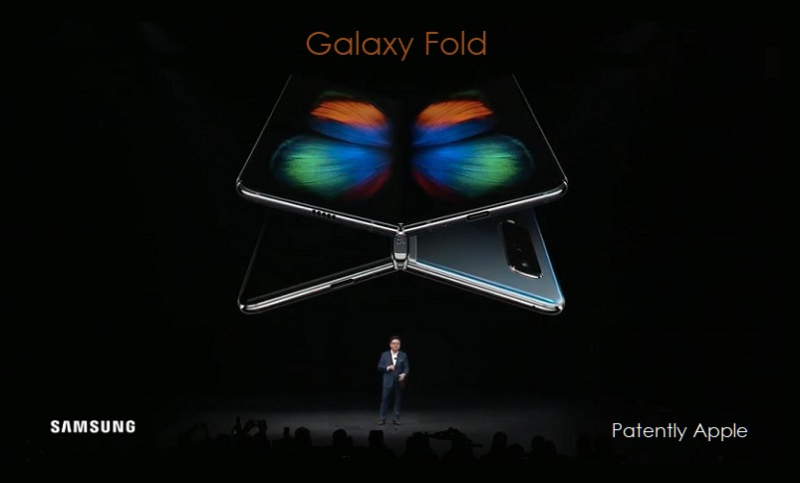 2 X Samsung Galaxy Fold  Infinity O display - Patently Mobile report