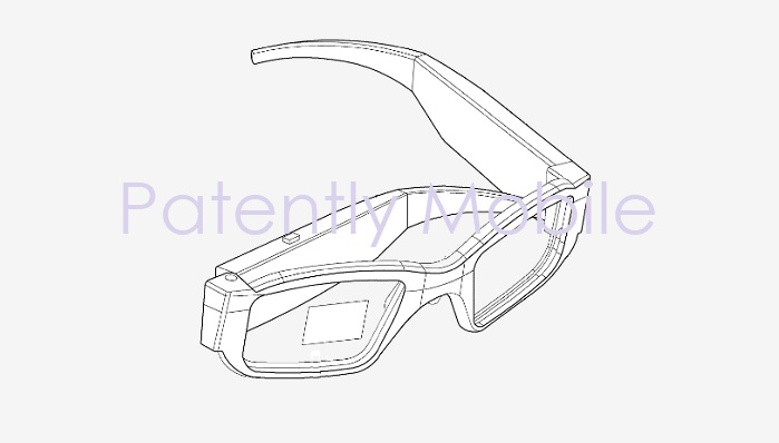 1 X Cover AR Glasses - Samsung patent