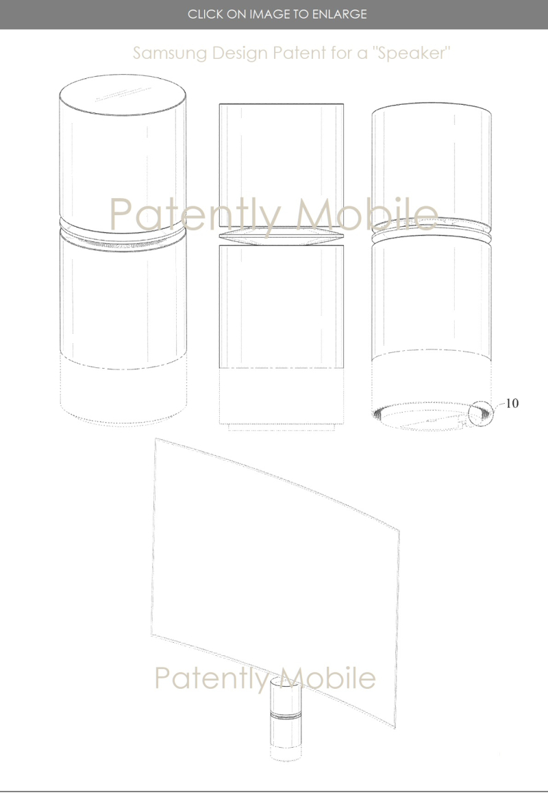 3 Samsung granted speaker design patent - Patently Mobile report Mar 13  2019