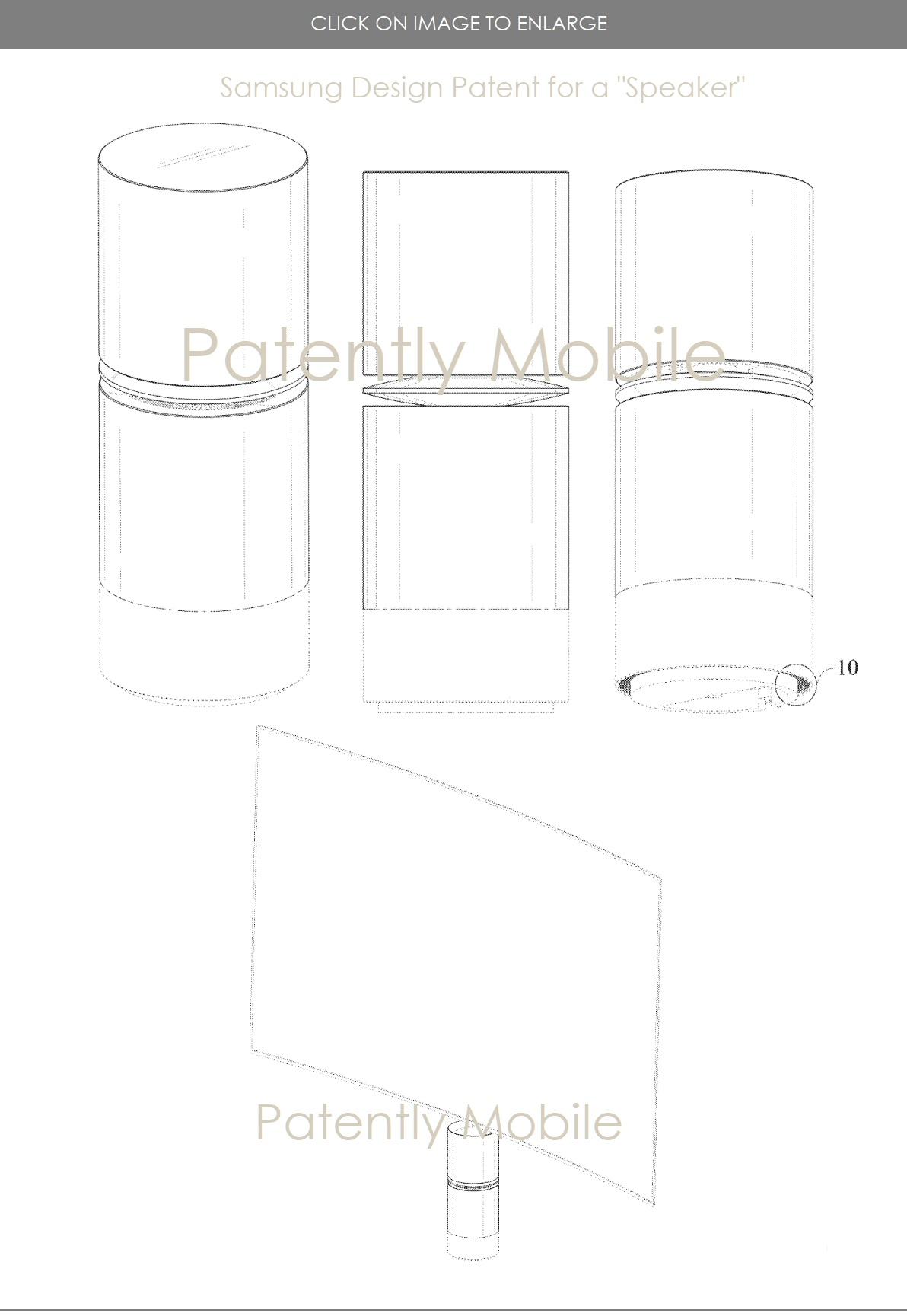 This week Samsung Won Design Patents for a Hybrid Wired-Wireless