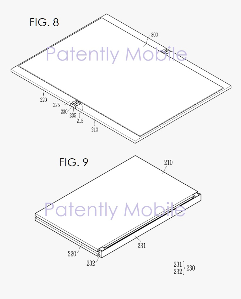 6 samsung folding device figs 8  9