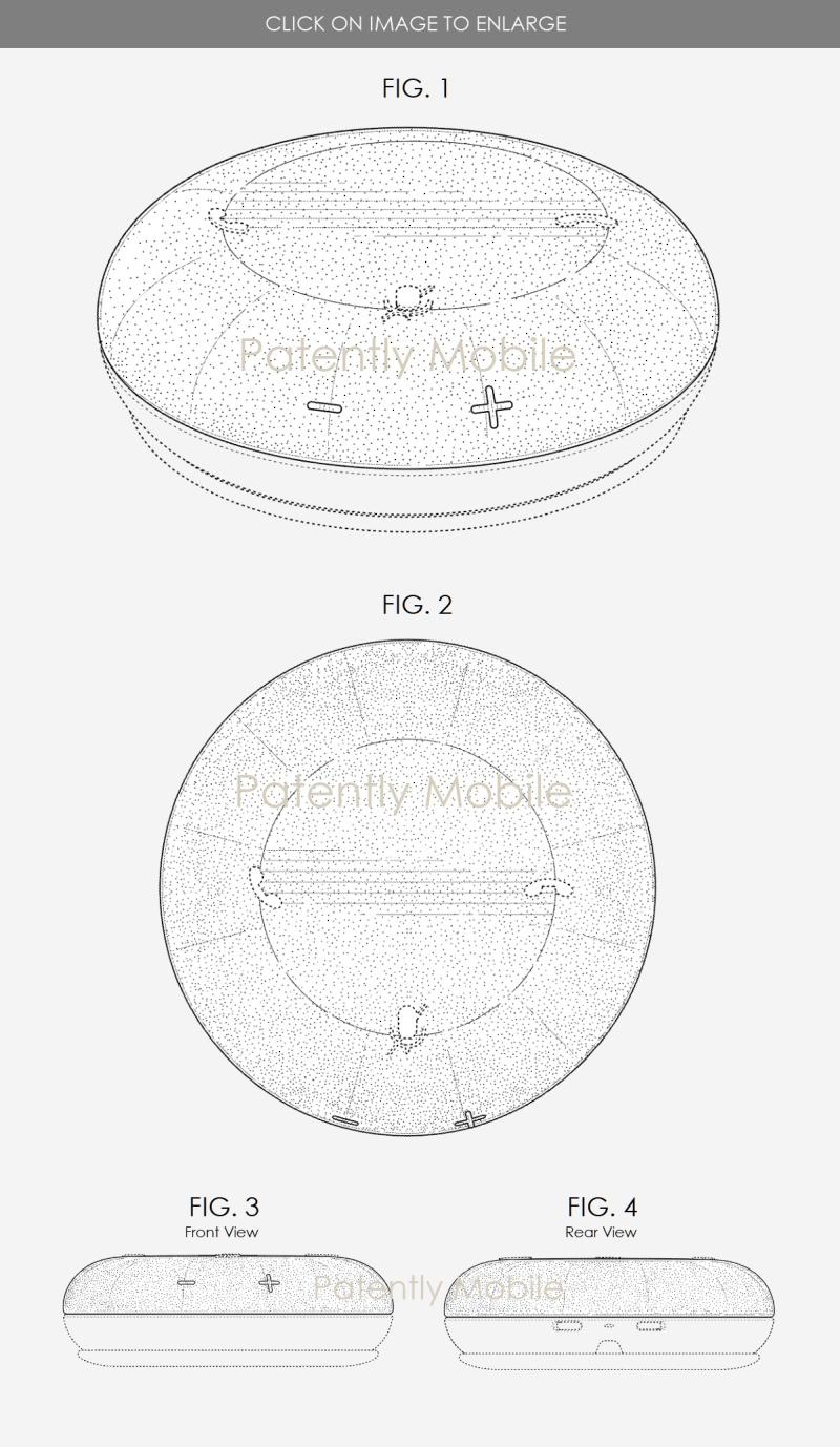 2 Microsoft Speaker Design Patent