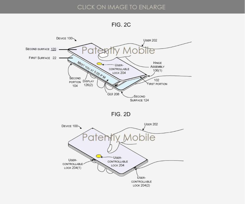 5 X Microsoft patent figs 2C & 2D